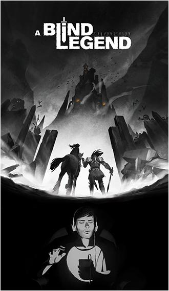 illustration a blind legend